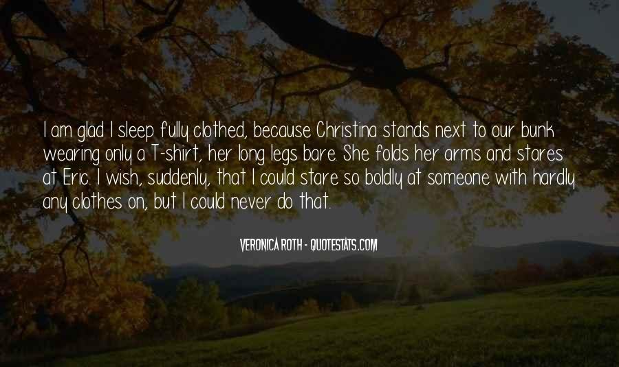 Wish I Could Sleep Quotes #838630