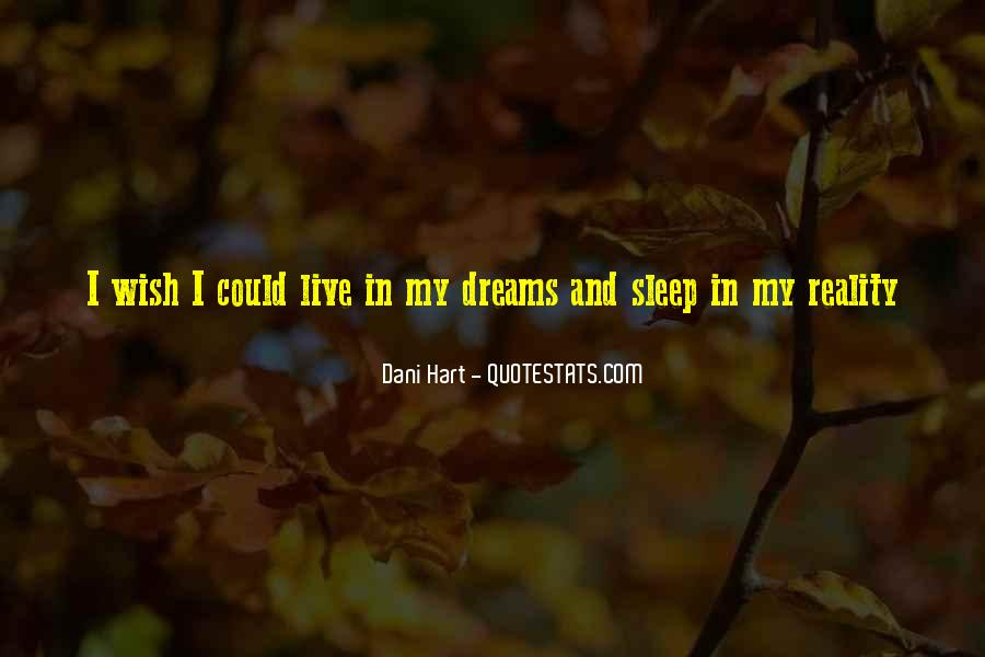 Wish I Could Sleep Quotes #89137