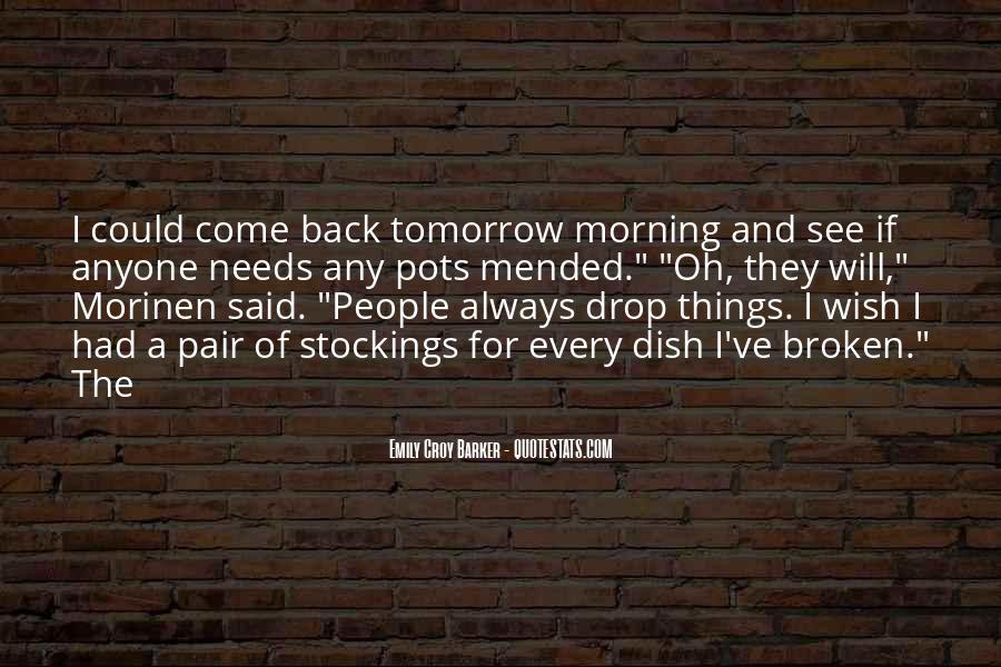 Wish I Had Quotes #97735
