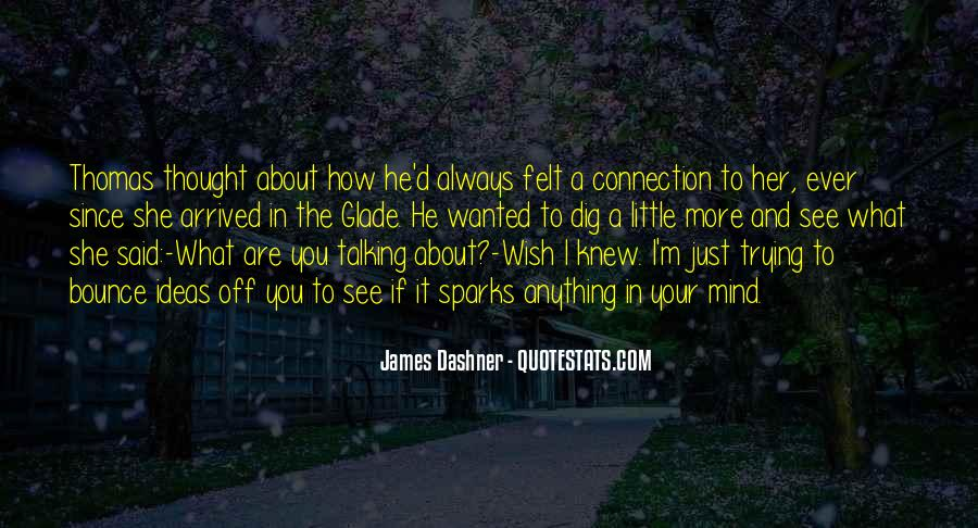 Wish I Knew How You Felt Quotes #1633994