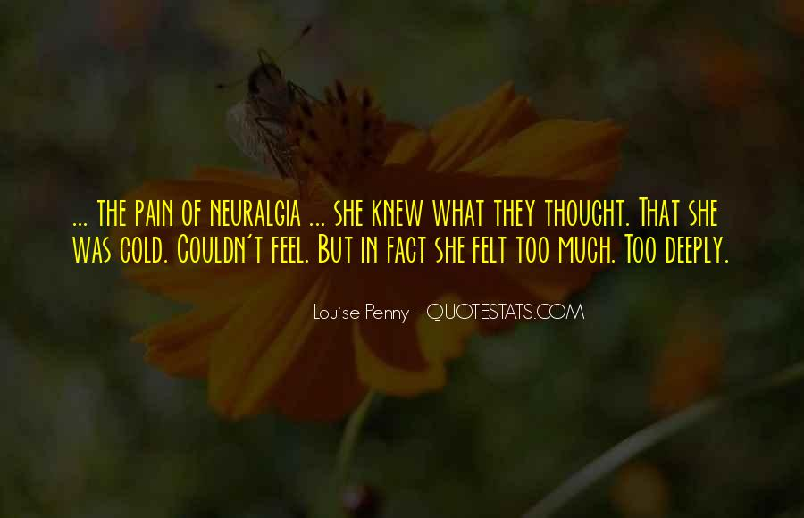 Wish I Knew How You Felt Quotes #47392