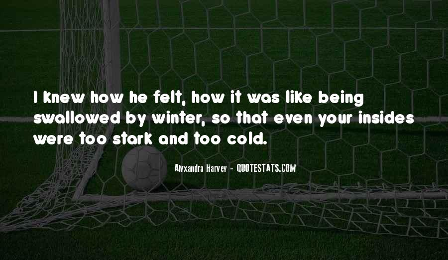 Wish I Knew How You Felt Quotes #66879