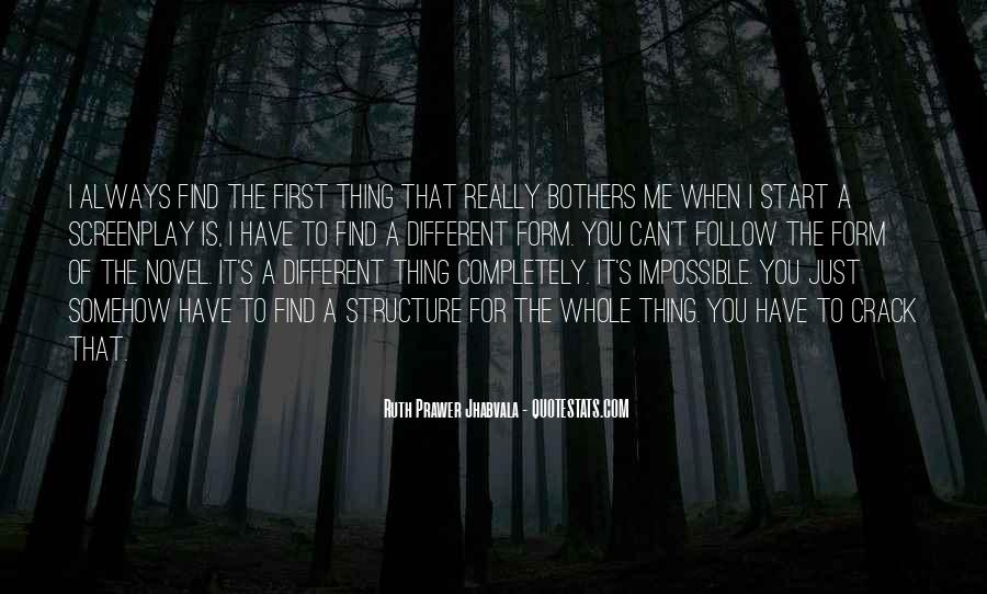 Wish It Could Be Different Quotes #159