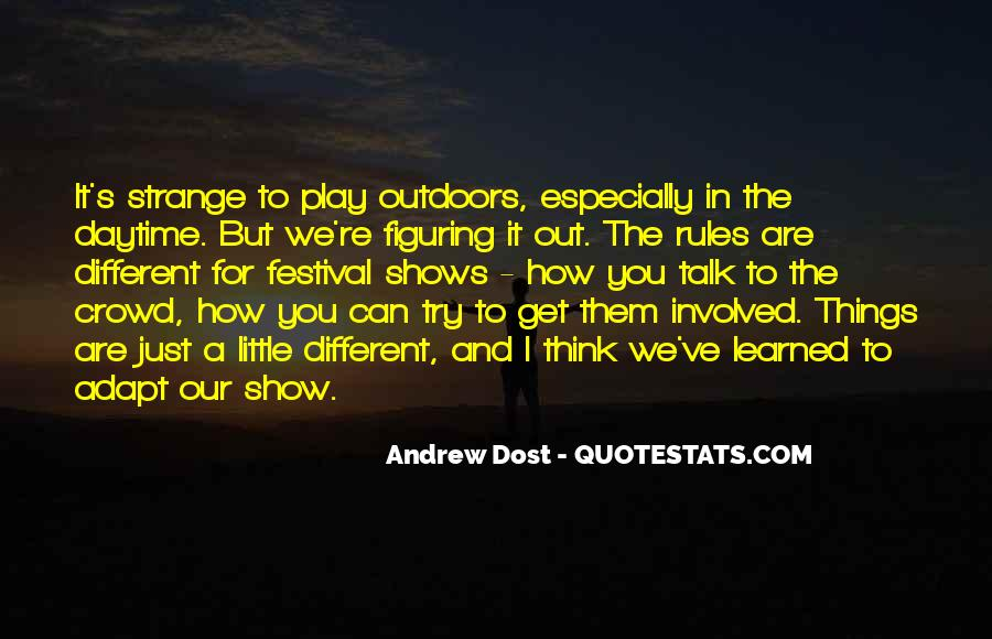 Wish It Could Be Different Quotes #952