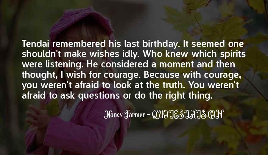 Wish You Birthday Quotes #1169181