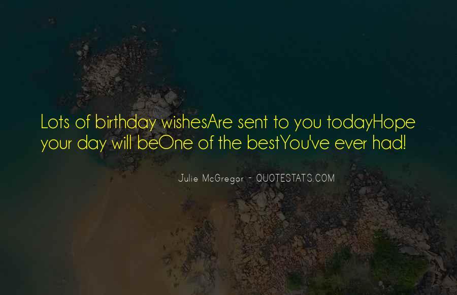 Wish You Birthday Quotes #1197248