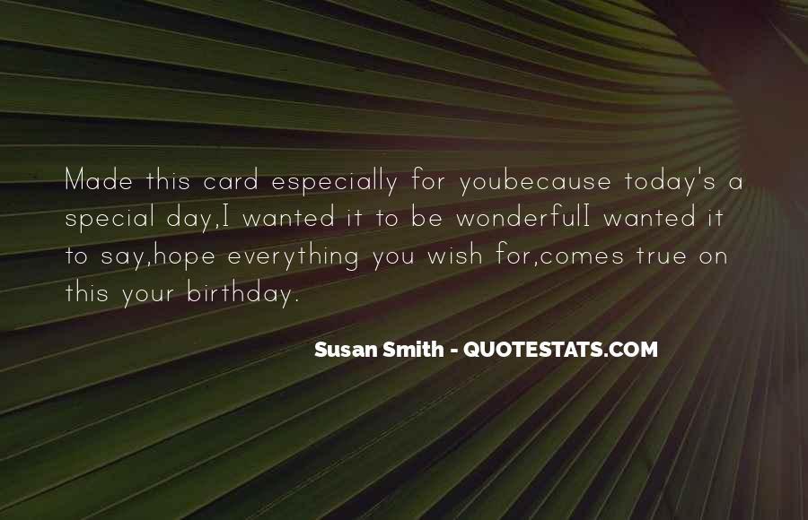Wish You Birthday Quotes #1421429