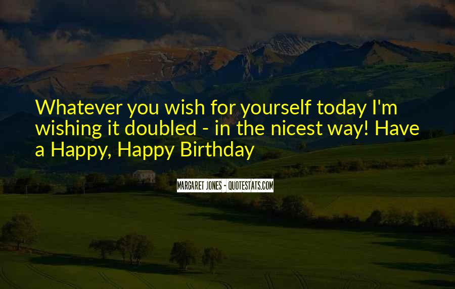 Wish You Birthday Quotes #172734
