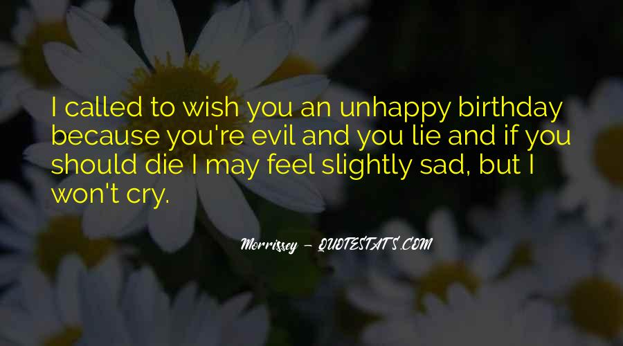 Wish You Birthday Quotes #1840862