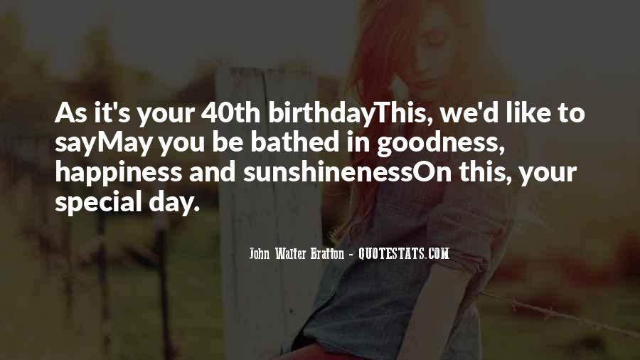 Wish You Birthday Quotes #45177