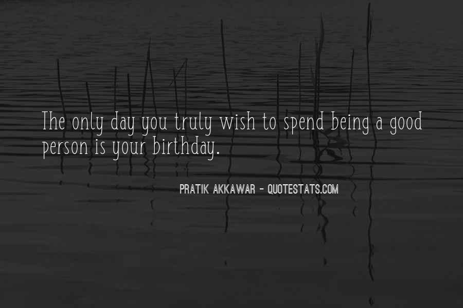 Wish You Birthday Quotes #786153