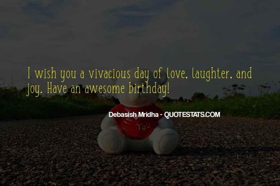 Wish You Birthday Quotes #85484