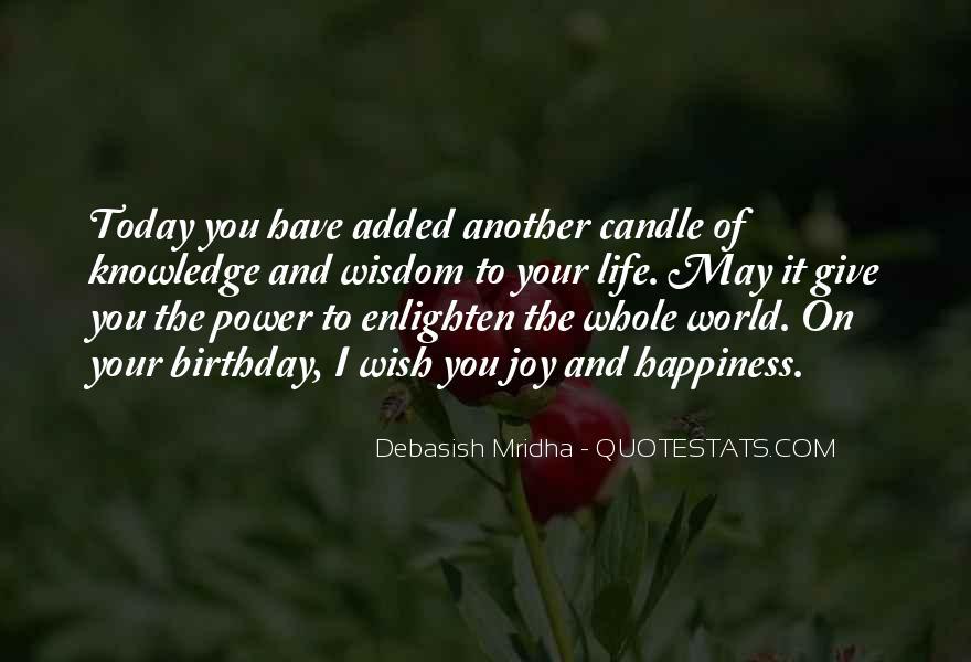 Wish You Birthday Quotes #956025