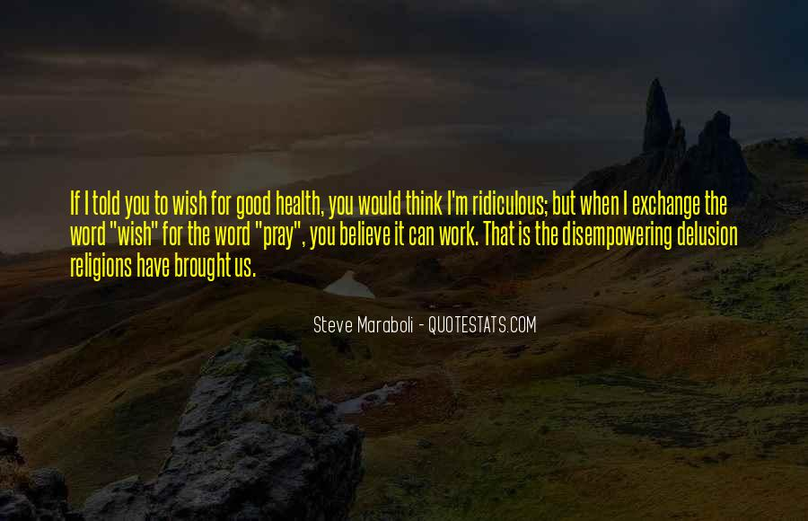 Wish You Good Health Quotes #1806610