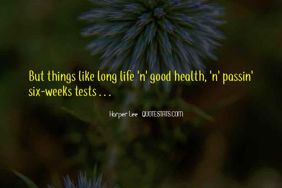 Wish You Good Health Quotes #32496