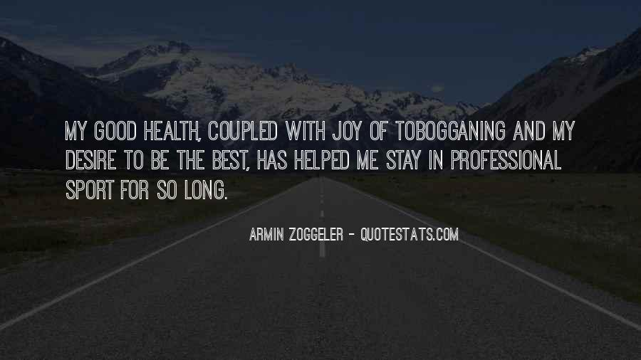 Wish You Good Health Quotes #35777