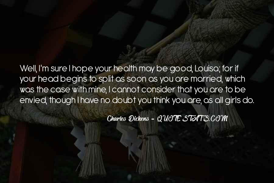 Wish You Good Health Quotes #6515