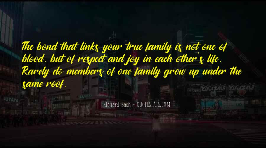 Quotes About Family Links #783167