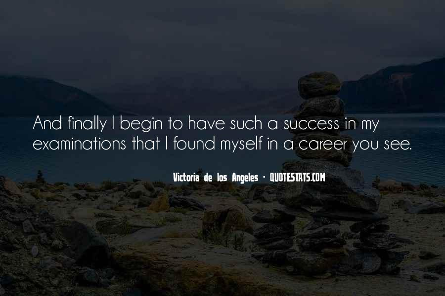 Wish You Success In Your Career Quotes #12734