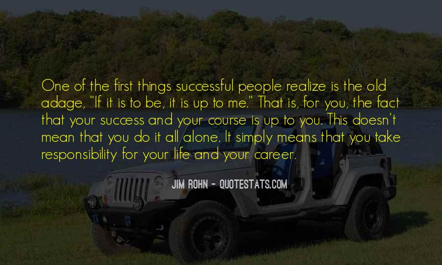 Wish You Success In Your Career Quotes #217521