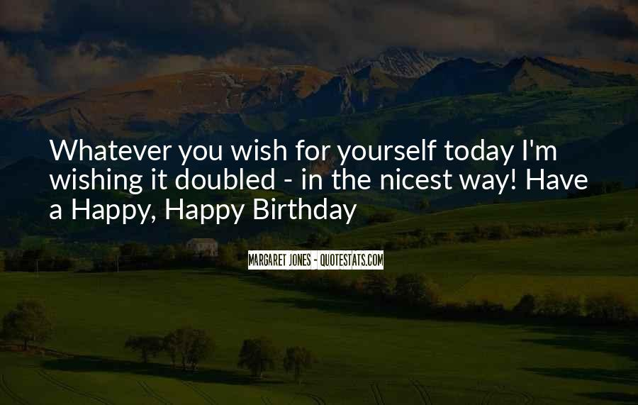 Wishing You All The Best Birthday Quotes #172734