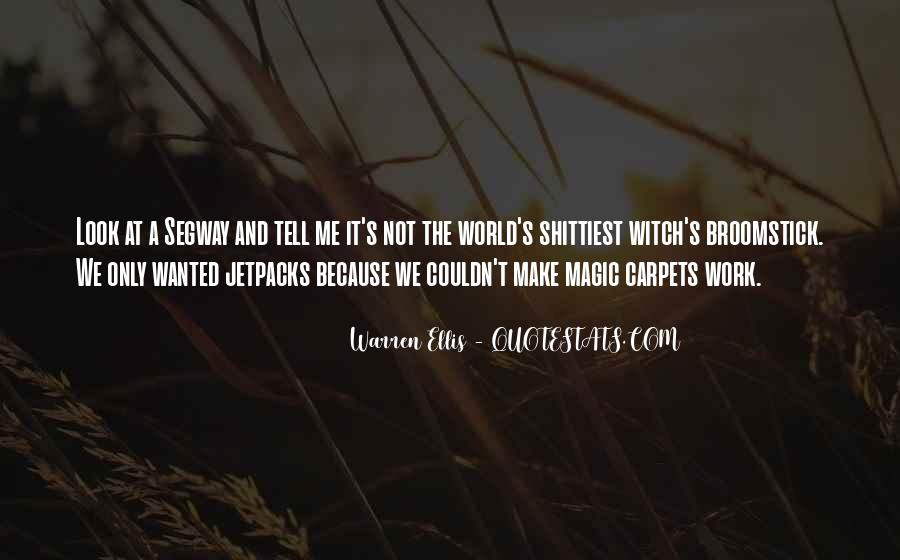 Witch Broomstick Quotes #187708