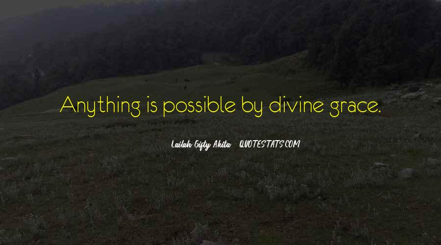 With Faith Anything Is Possible Quotes #119841
