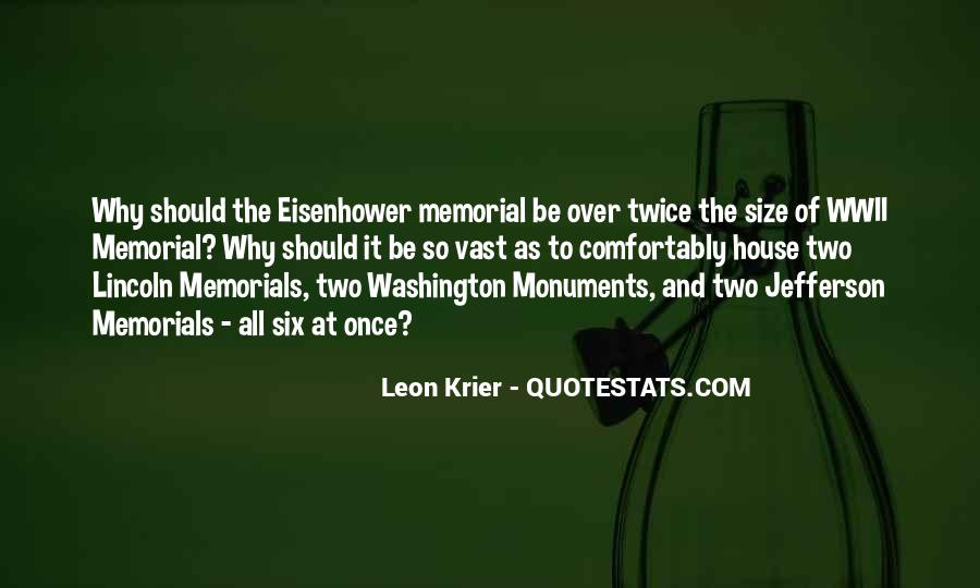 Quotes About Memorials #1095983
