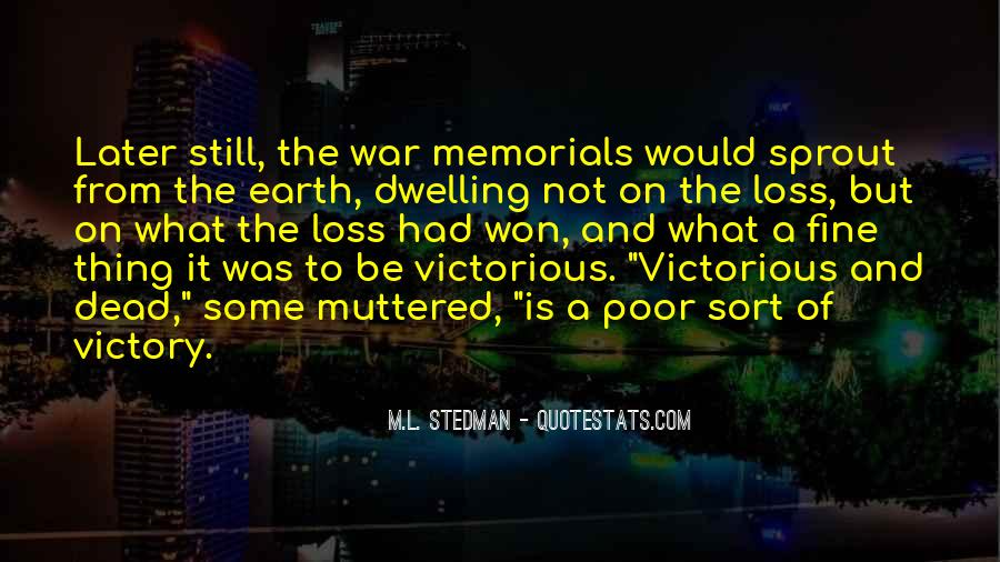 Quotes About Memorials #129052