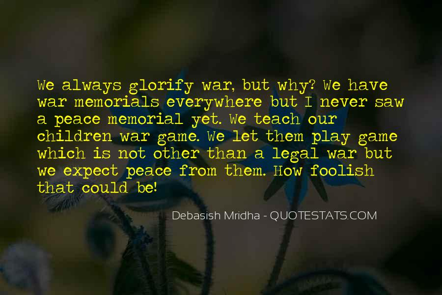 Quotes About Memorials #1449324