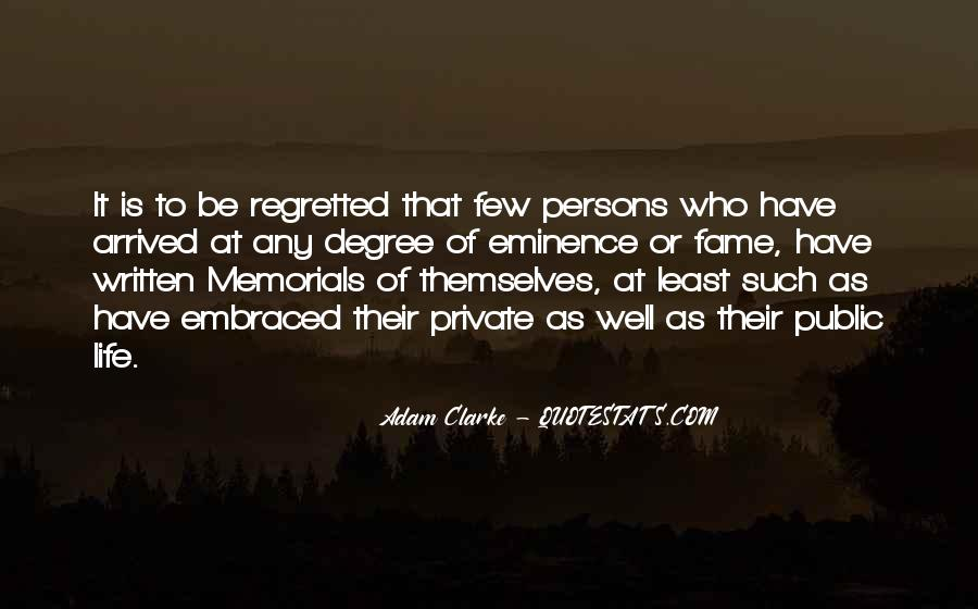 Quotes About Memorials #1781899