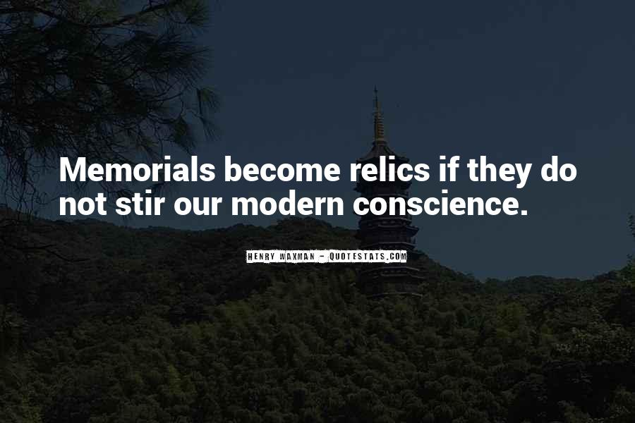 Quotes About Memorials #694421