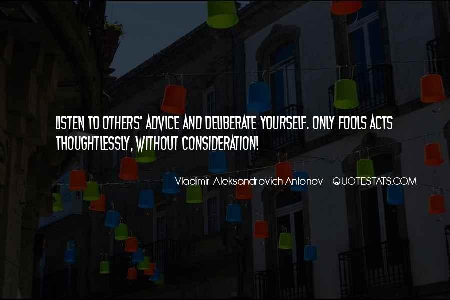 Without Consideration Quotes #2598