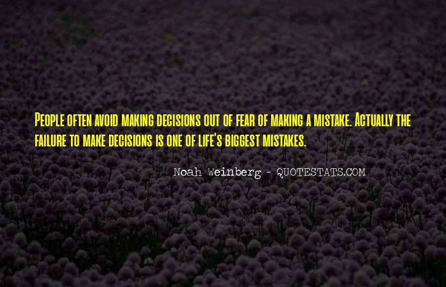Without Making Mistakes Quotes #103971