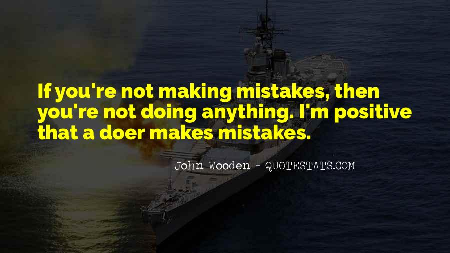 Without Making Mistakes Quotes #116041