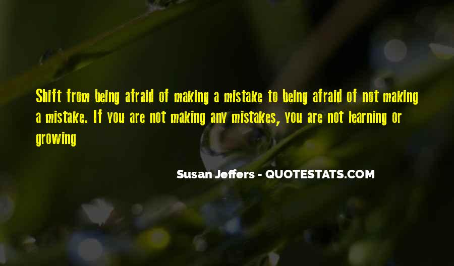 Without Making Mistakes Quotes #116489