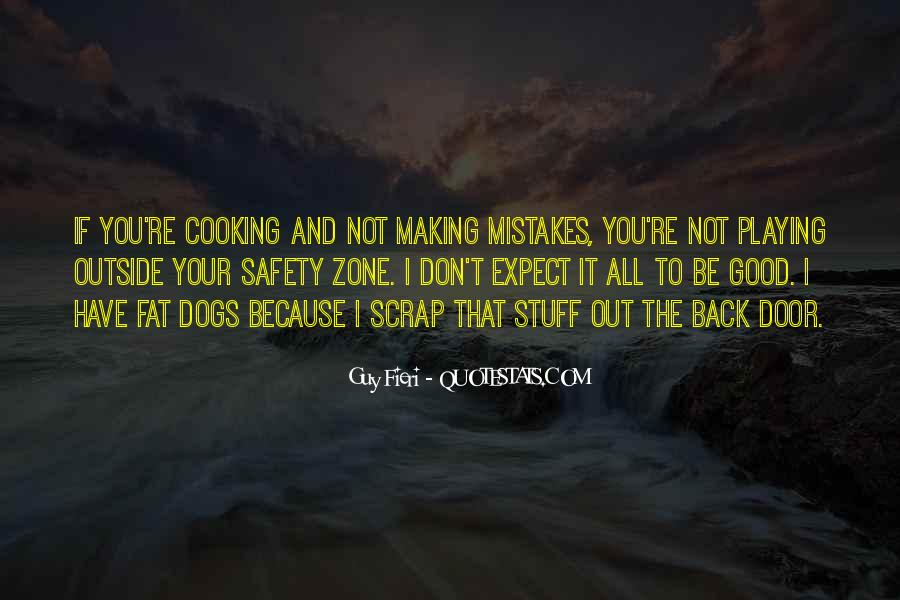 Without Making Mistakes Quotes #116635