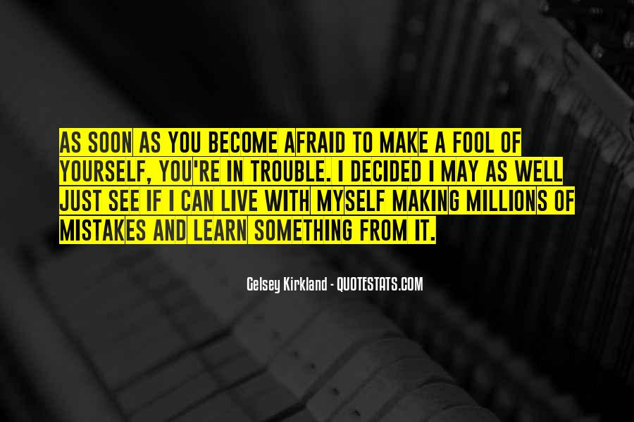 Without Making Mistakes Quotes #123241