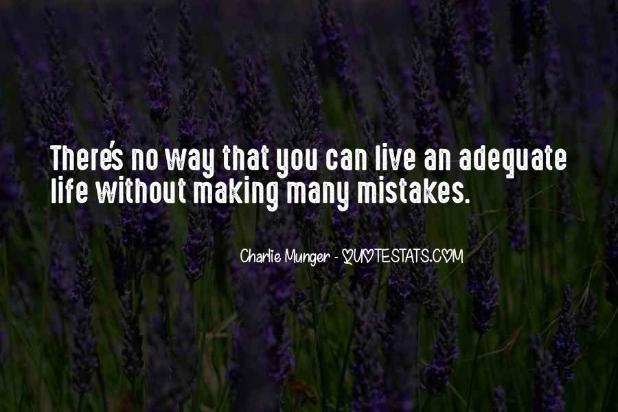 Without Making Mistakes Quotes #1312784