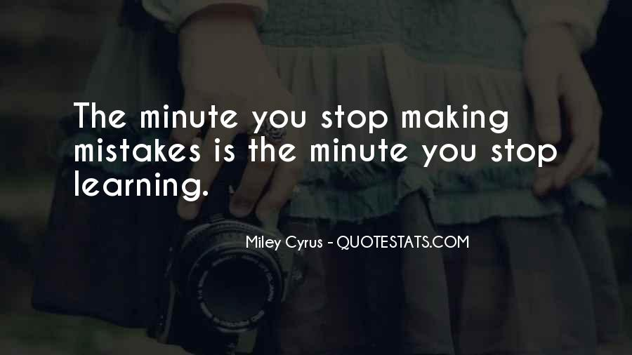 Without Making Mistakes Quotes #19026
