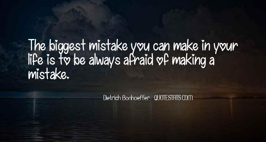 Without Making Mistakes Quotes #21502