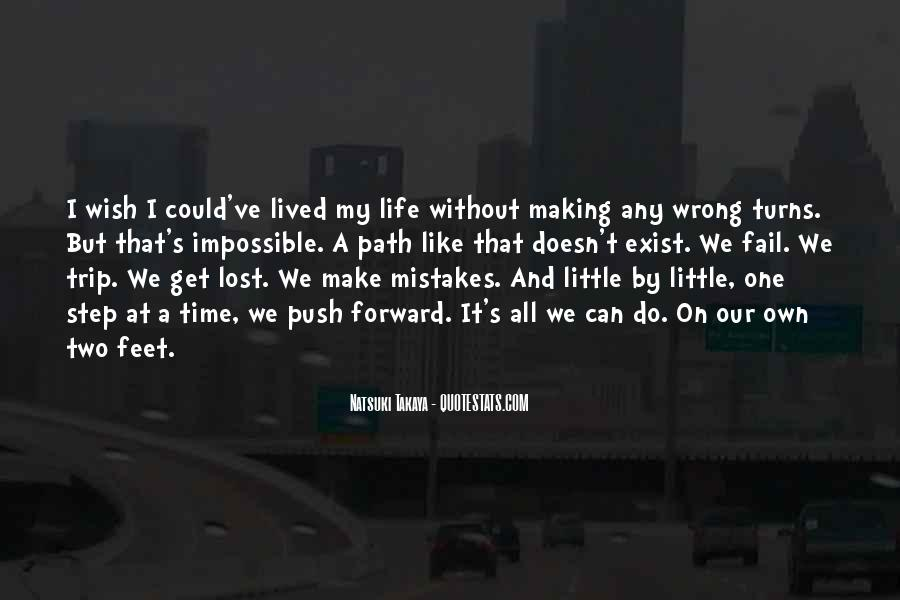 Without Making Mistakes Quotes #274562