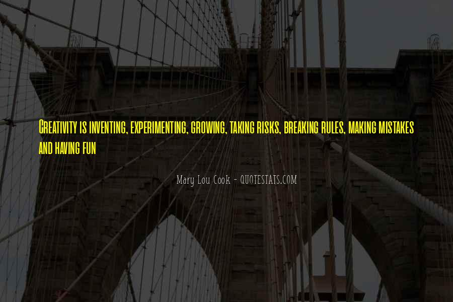Without Making Mistakes Quotes #41827
