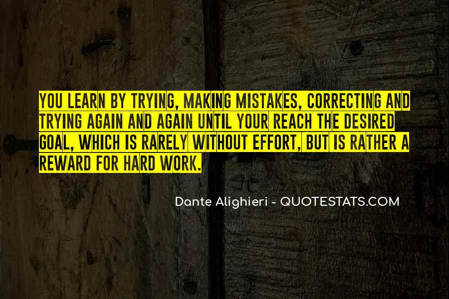 Without Making Mistakes Quotes #480815