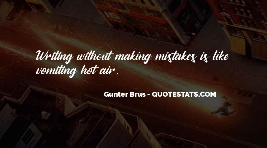 Without Making Mistakes Quotes #885174