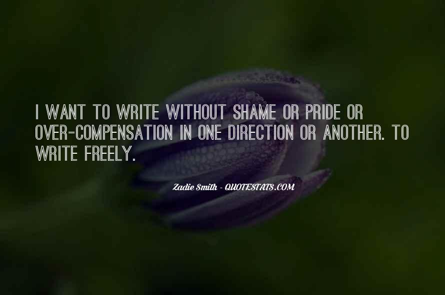 Without Shame Quotes #1137398