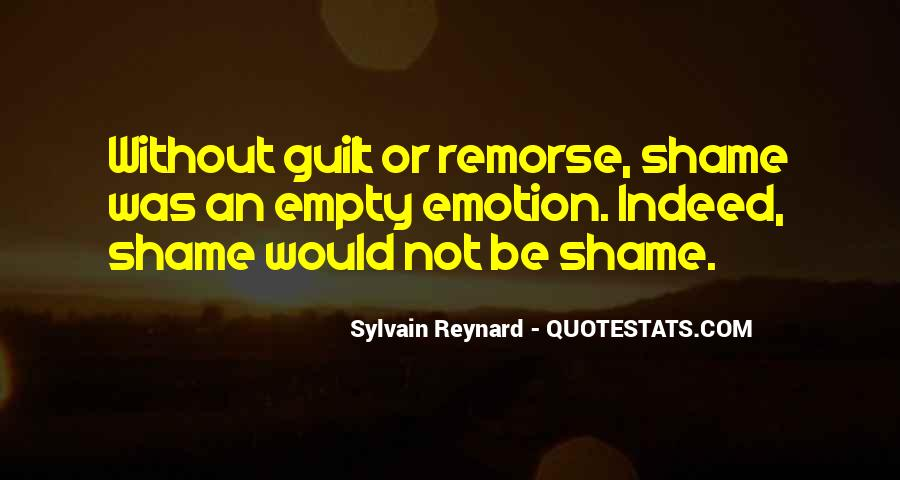 Without Shame Quotes #1377349