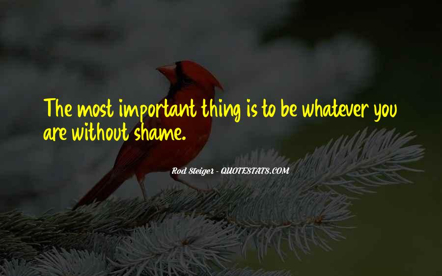 Without Shame Quotes #94623