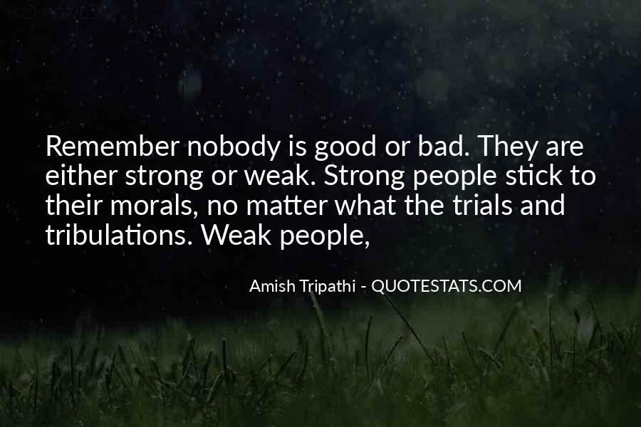 Without Trials And Tribulations Quotes #137157