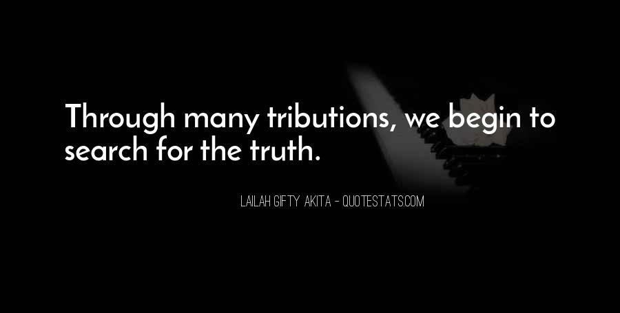 Without Trials And Tribulations Quotes #171069